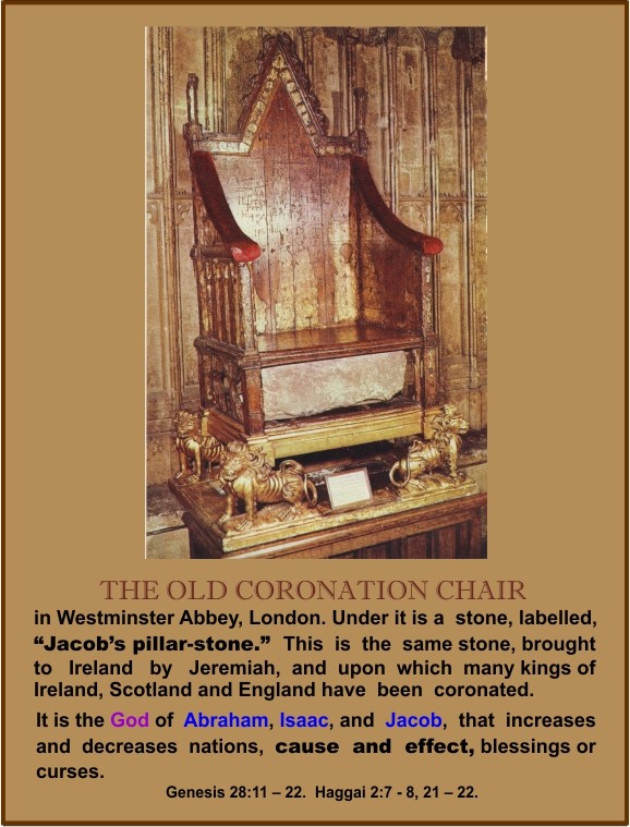 The Old Coronation Chair.