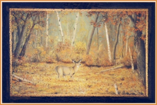 AUTUMN BEAUTY OIL MID 60'S
