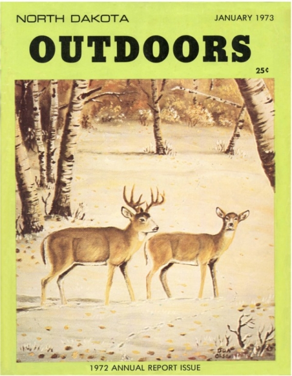 North Dakota OUTDOORS January 1973