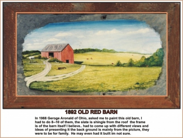 1892 OLD RED BARN