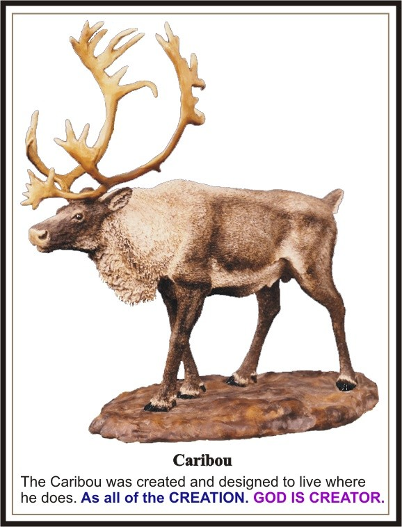 Caribou Sculpture 1975