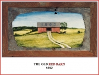 THE OLD RED BARN 1882 RIDER