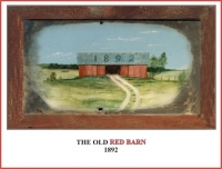 THE OLD RED BARN 1892 FENCE